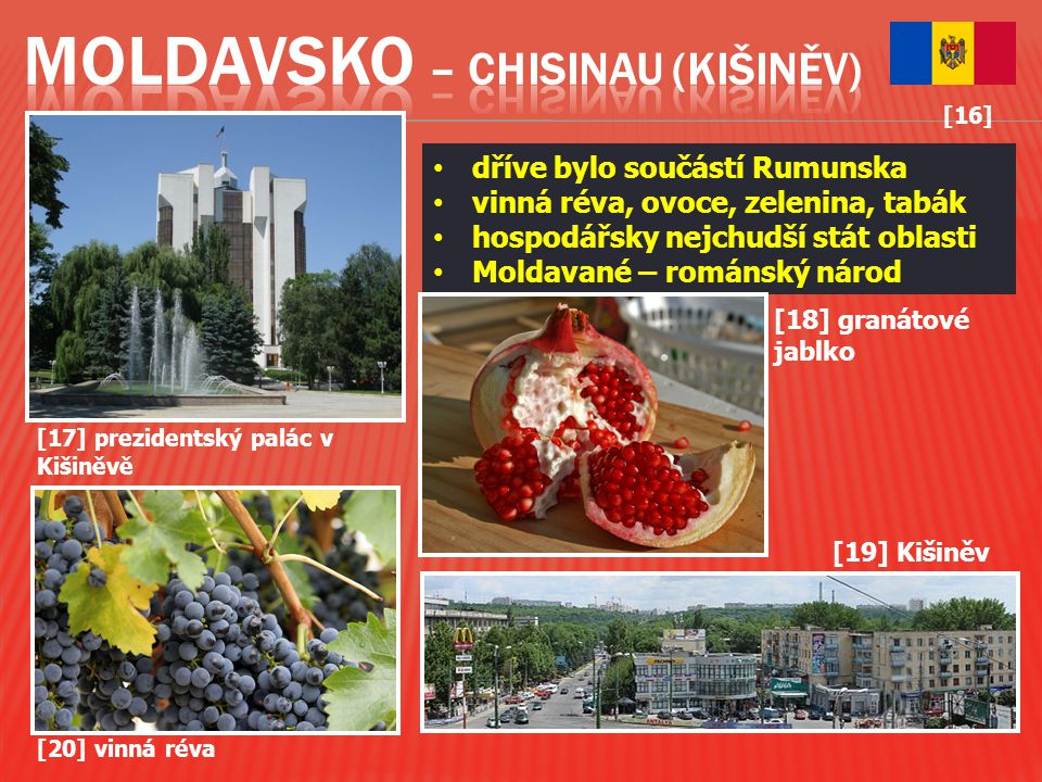 Moldavsko – Chisinau (Kišiněv)