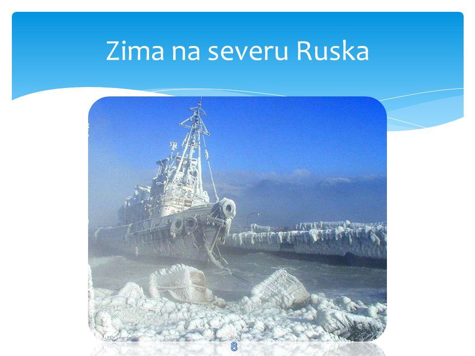 Zima na severu Ruska 8