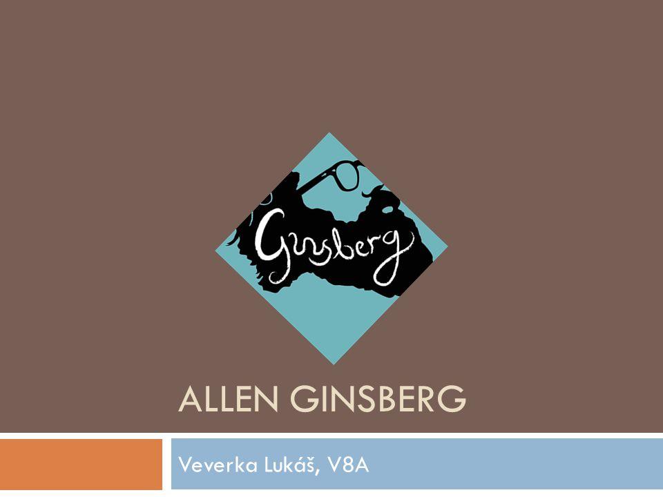 Allen Ginsberg Veverka Lukáš, V8A
