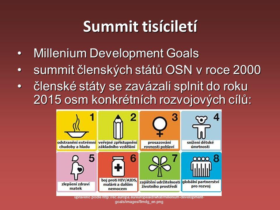 Summit tisíciletí Millenium Development Goals