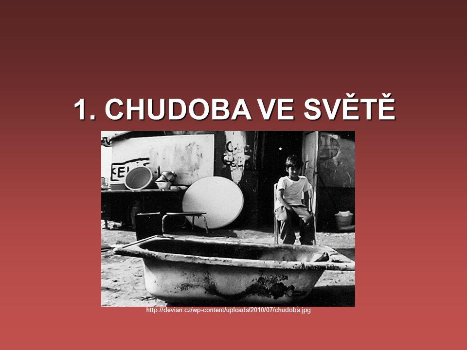 1. CHUDOBA VE SVĚTĚ http://devian.cz/wp-content/uploads/2010/07/chudoba.jpg
