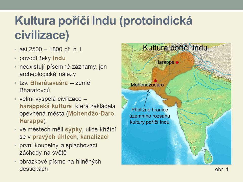 Kultura poříčí Indu (protoindická civilizace)