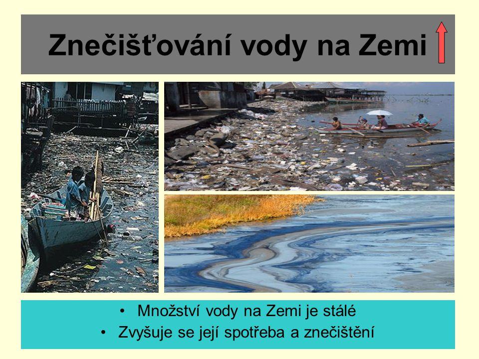 Znečišťování vody na Zemi