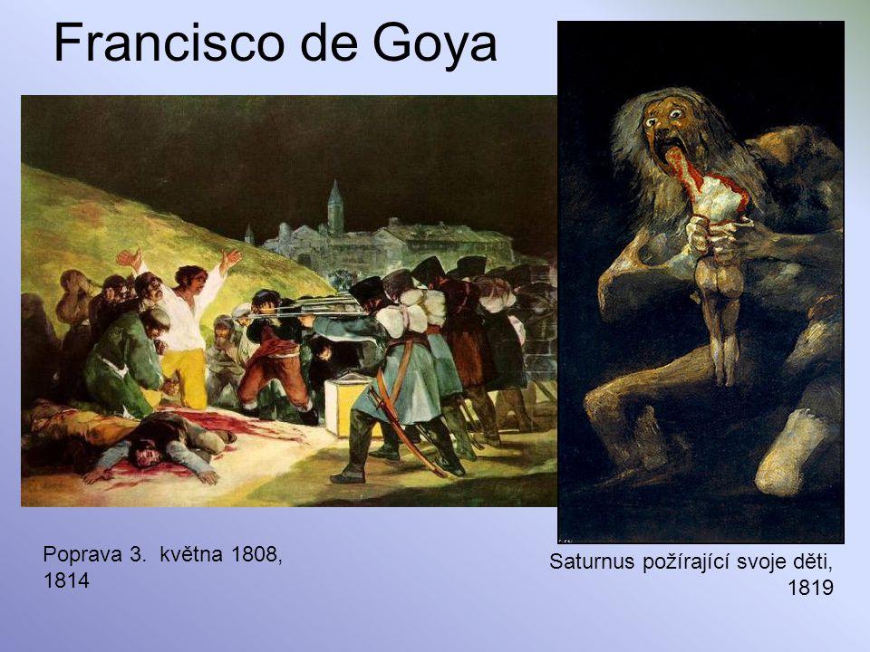 Francisco de Goya Poprava 3. května 1808,