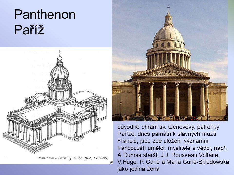 Panthenon Paříž