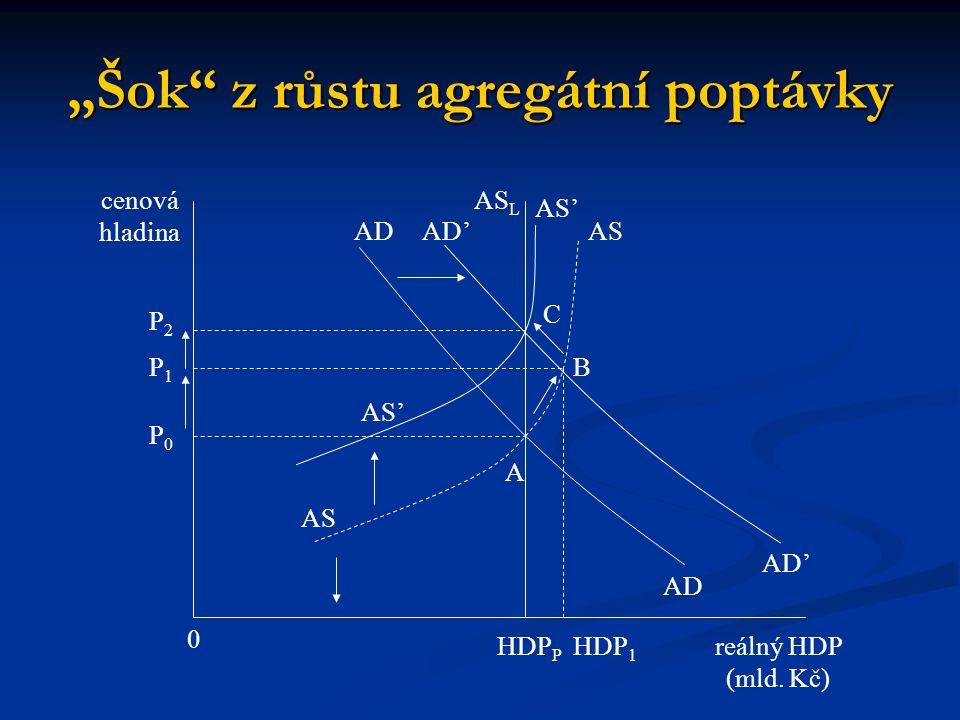 """""""Šok z růstu agregátní poptávky"""