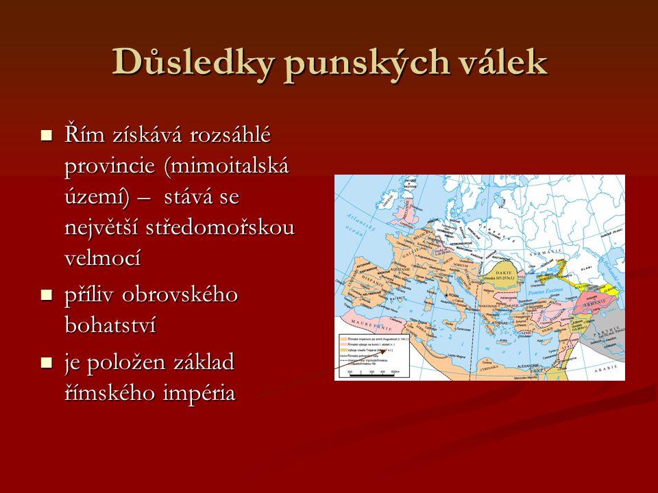 Důsledky punských válek