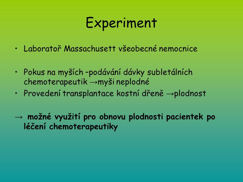 Experiment Laboratoř Massachusett všeobecné nemocnice