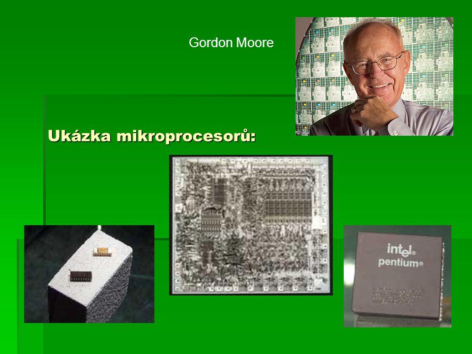 Ukázka mikroprocesorů: