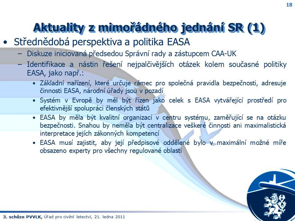 Aktuality z mimořádného jednání SR (1)