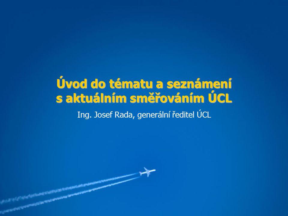 Úvod do tématu a seznámení s aktuálním směřováním ÚCL