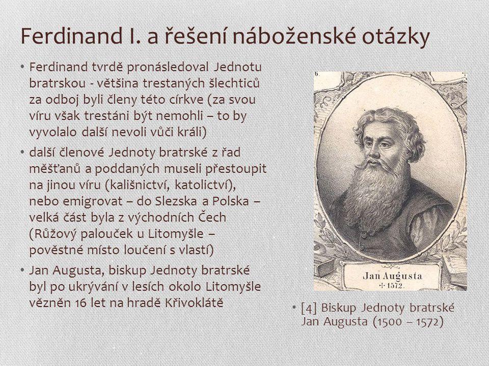 Ferdinand I. a řešení náboženské otázky