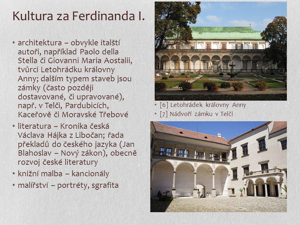 Kultura za Ferdinanda I.