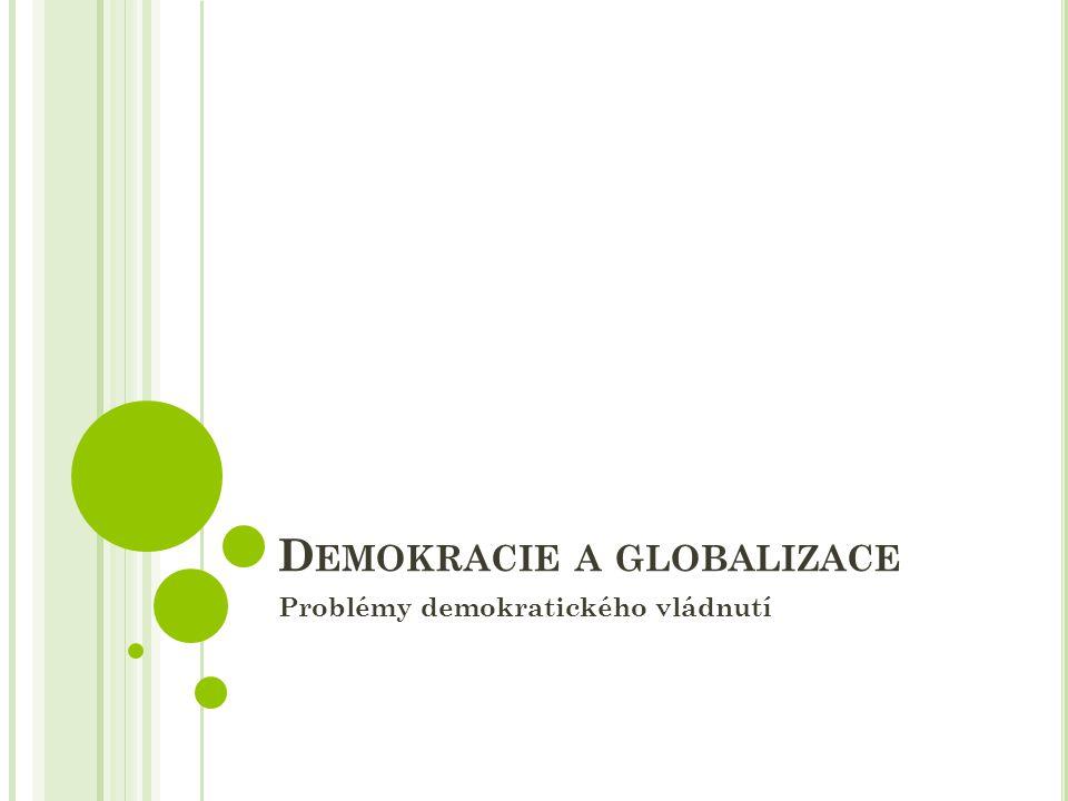 Demokracie a globalizace
