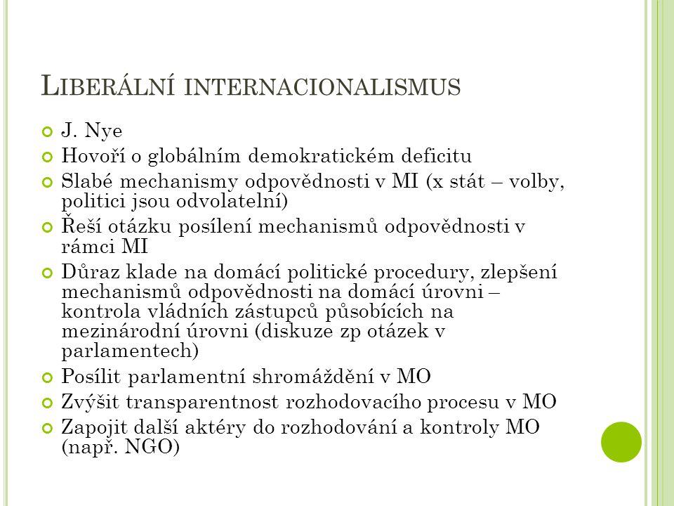 Liberální internacionalismus