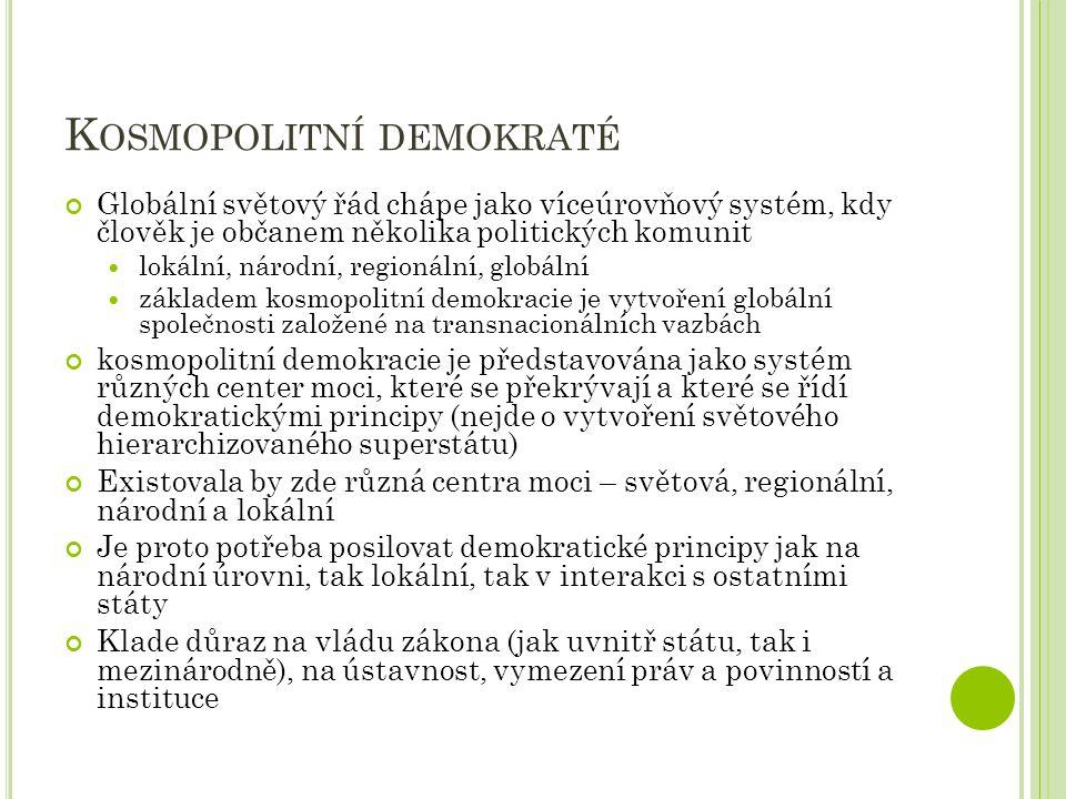 Kosmopolitní demokraté
