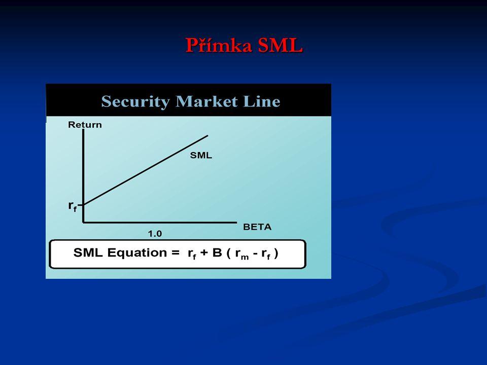 Přímka SML