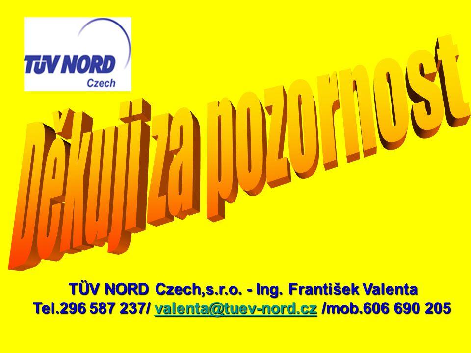 TÜV NORD Czech,s.r.o. - Ing. František Valenta
