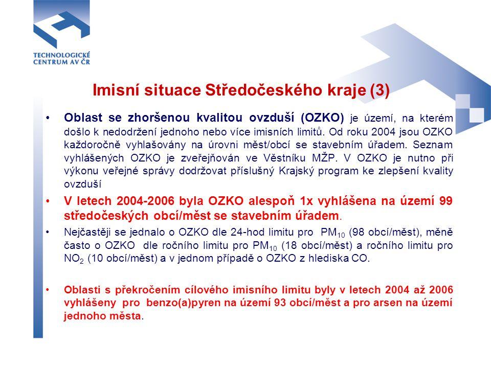 Imisní situace Středočeského kraje (3)