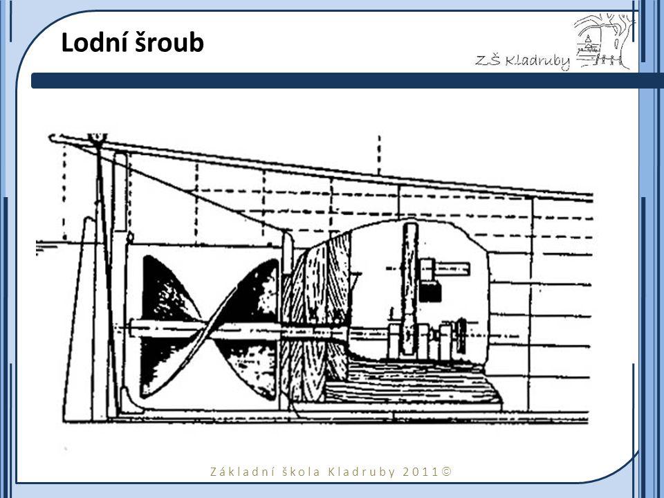 Lodní šroub Ressel stanovil správný tvar a velikost Archimédova šroubu (ze 16. století) a vymyslel i nejvhodnější umístění šroubu na lodi.