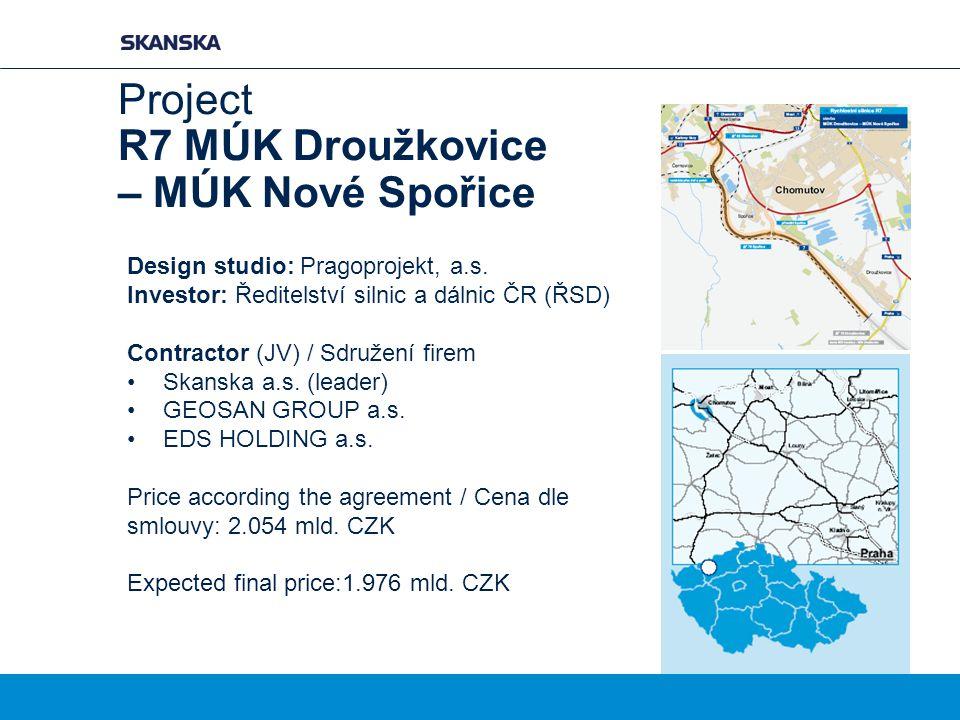 Project R7 MÚK Droužkovice – MÚK Nové Spořice