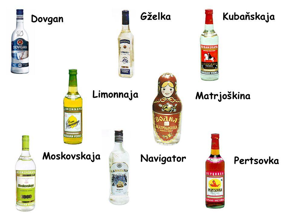 Gželka Kubaňskaja Dovgan Limonnaja Matrjoškina Moskovskaja Navigator Pertsovka