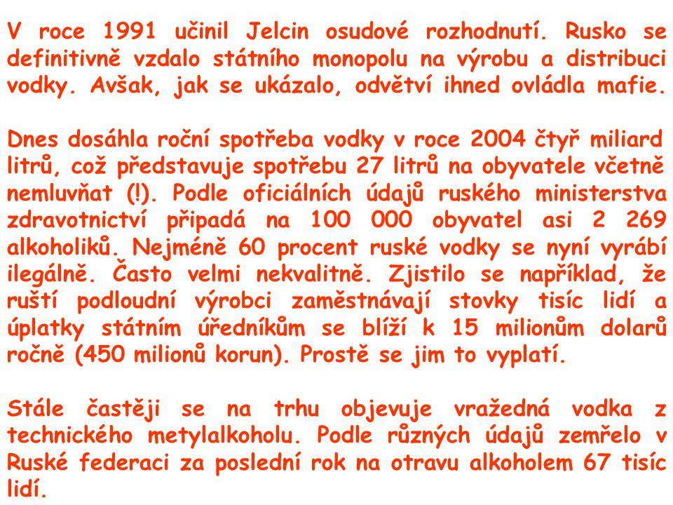V roce 1991 učinil Jelcin osudové rozhodnutí