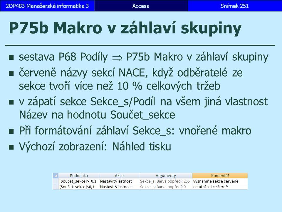 P75b Makro v záhlaví skupiny