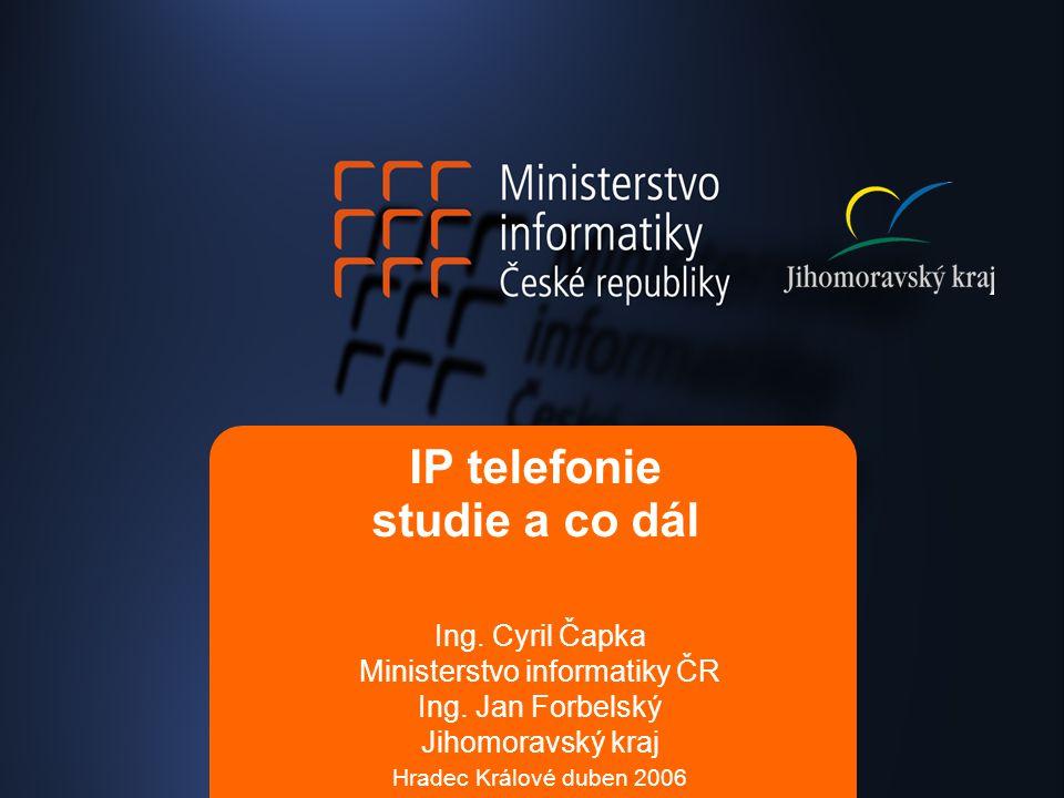 IP telefonie studie a co dál