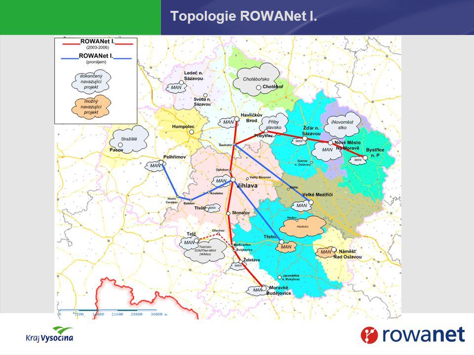 Topologie ROWANet I.