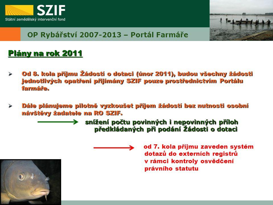 OP Rybářství 2007-2013 – Portál Farmáře