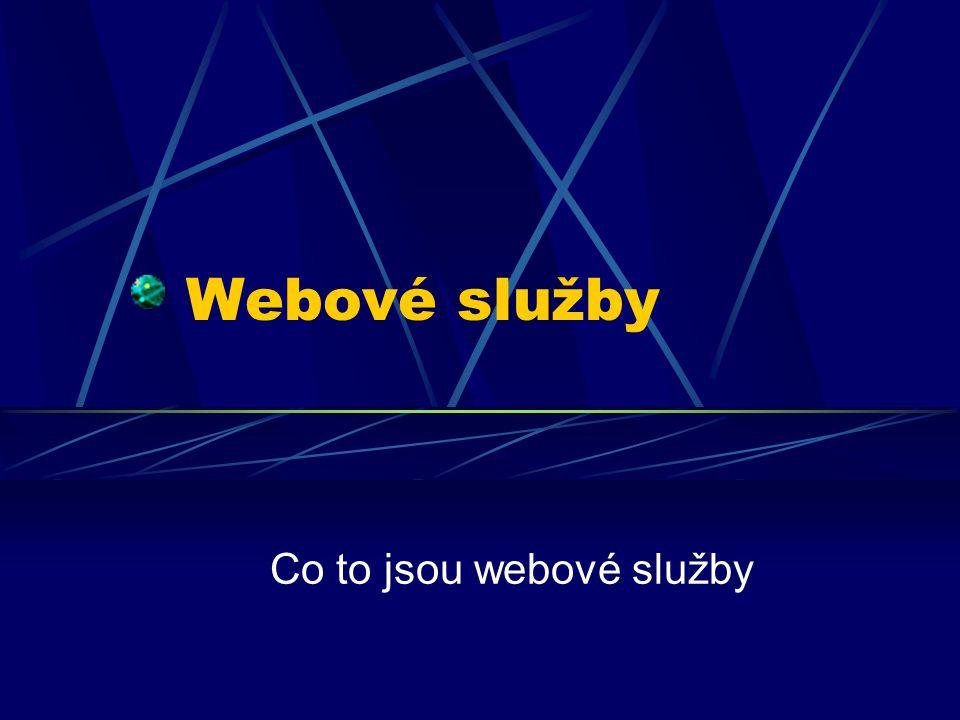 Co to jsou webové služby