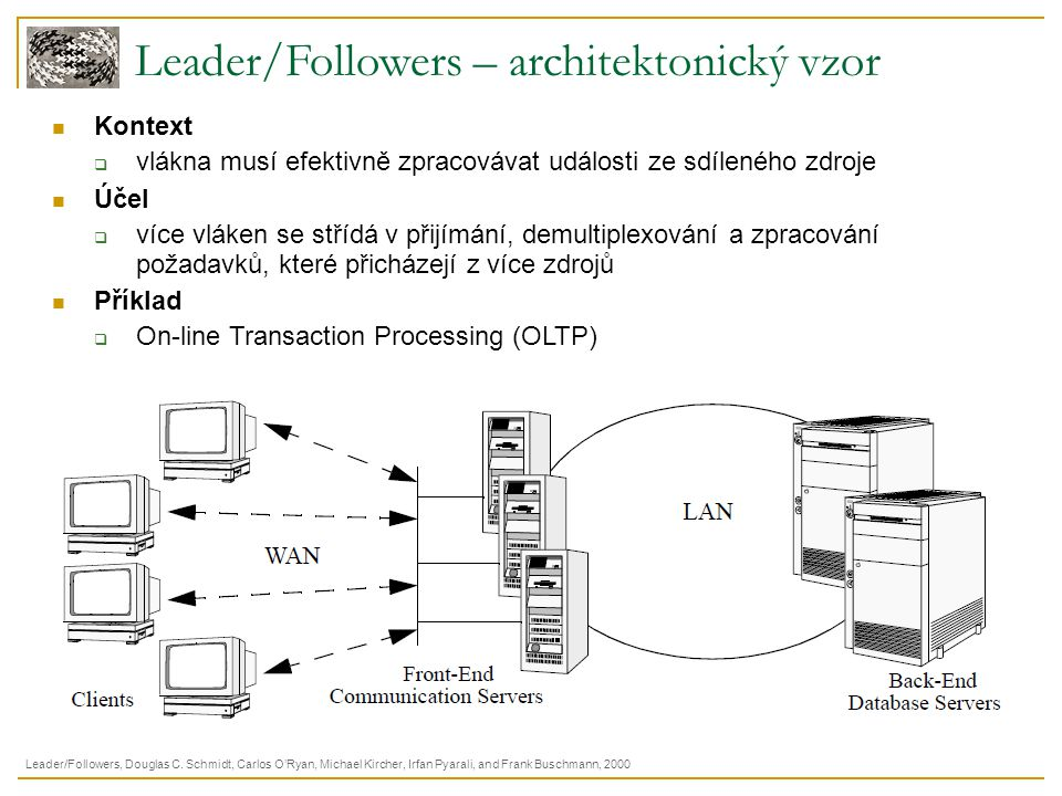 Leader/Followers – architektonický vzor