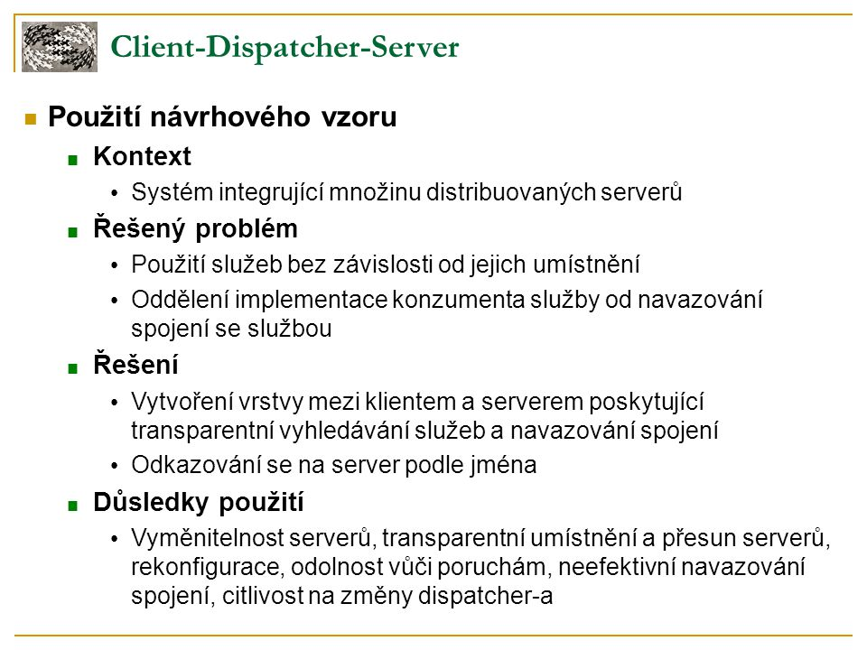 Client-Dispatcher-Server