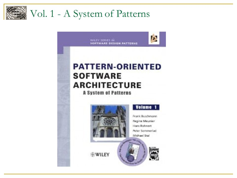 Vol. 1 - A System of Patterns