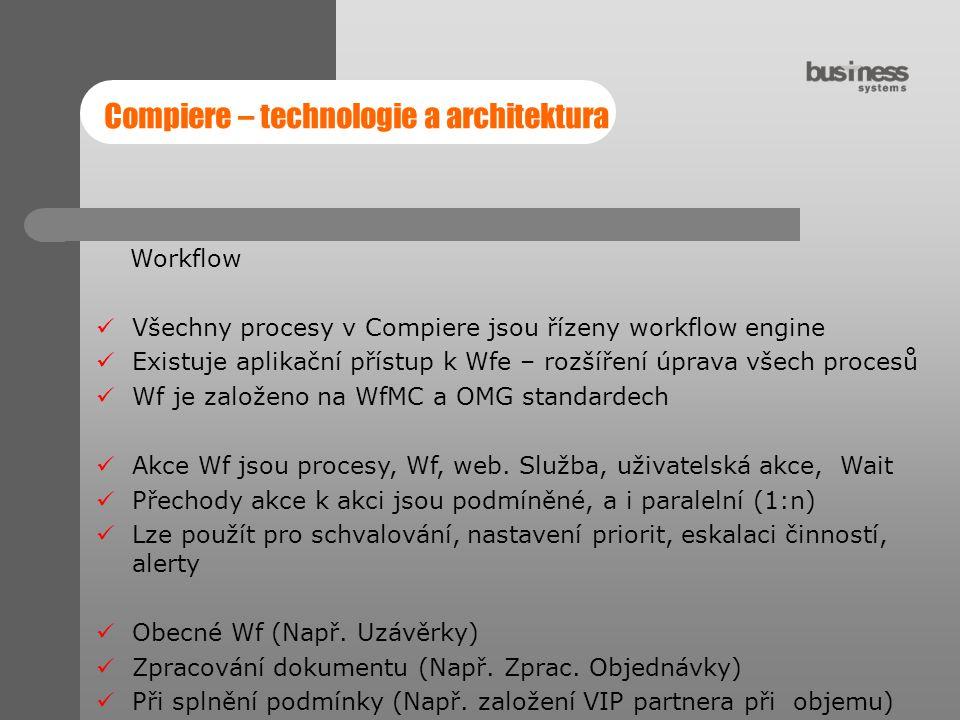 Compiere – technologie a architektura
