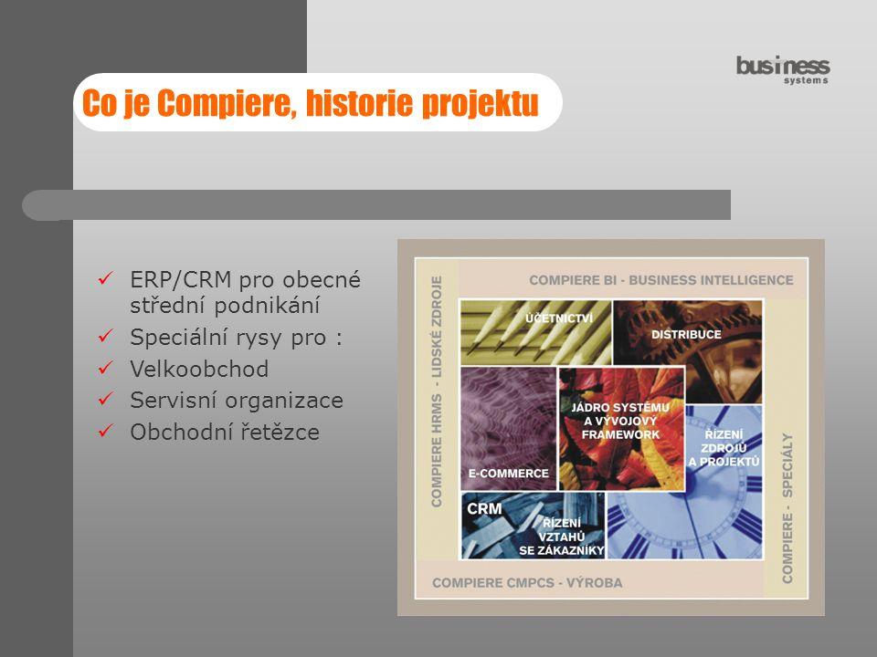 Co je Compiere, historie projektu