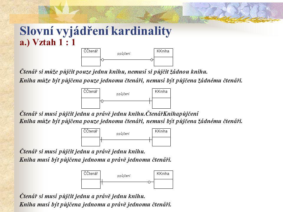 Slovní vyjádření kardinality