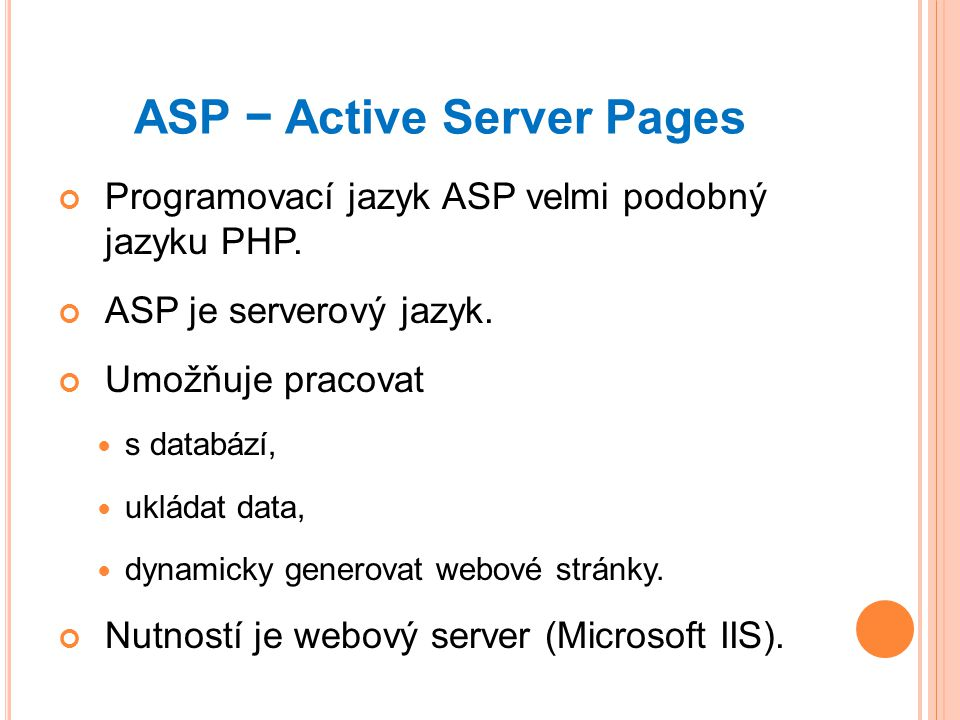 ASP − Active Server Pages