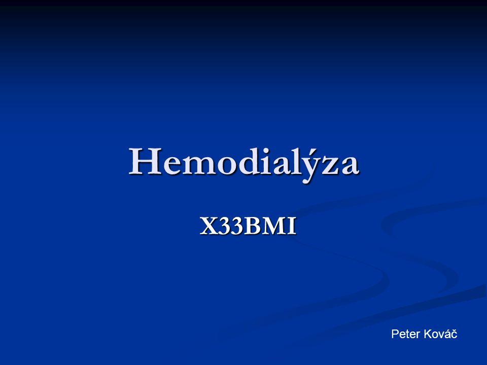 Hemodialýza X33BMI Peter Kováč