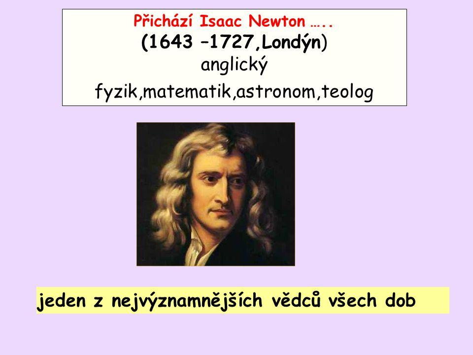 anglický fyzik,matematik,astronom,teolog