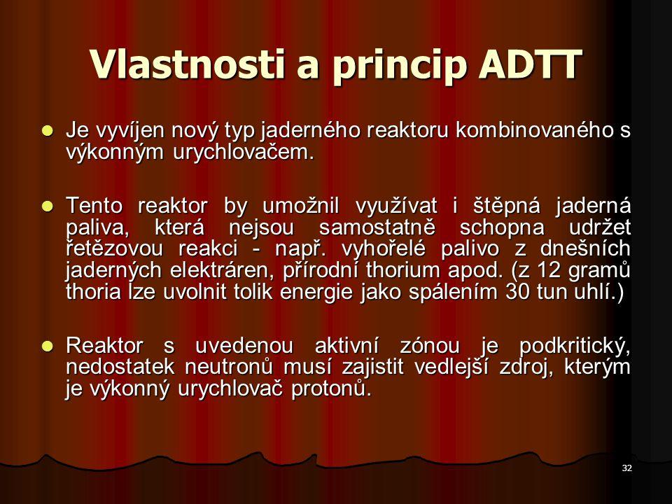 Vlastnosti a princip ADTT