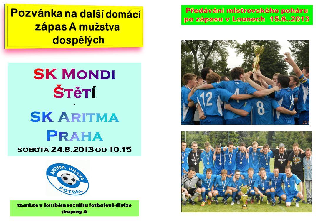 SK Mondi Štětí SK Aritma Praha