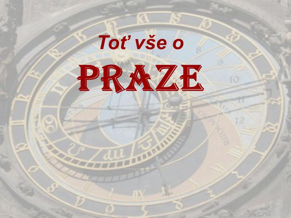 Toť vše o Praze