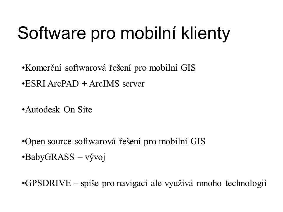 Software pro mobilní klienty