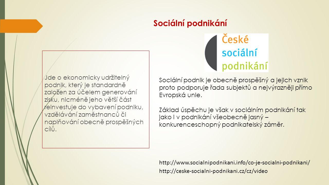 Sociální podnikání