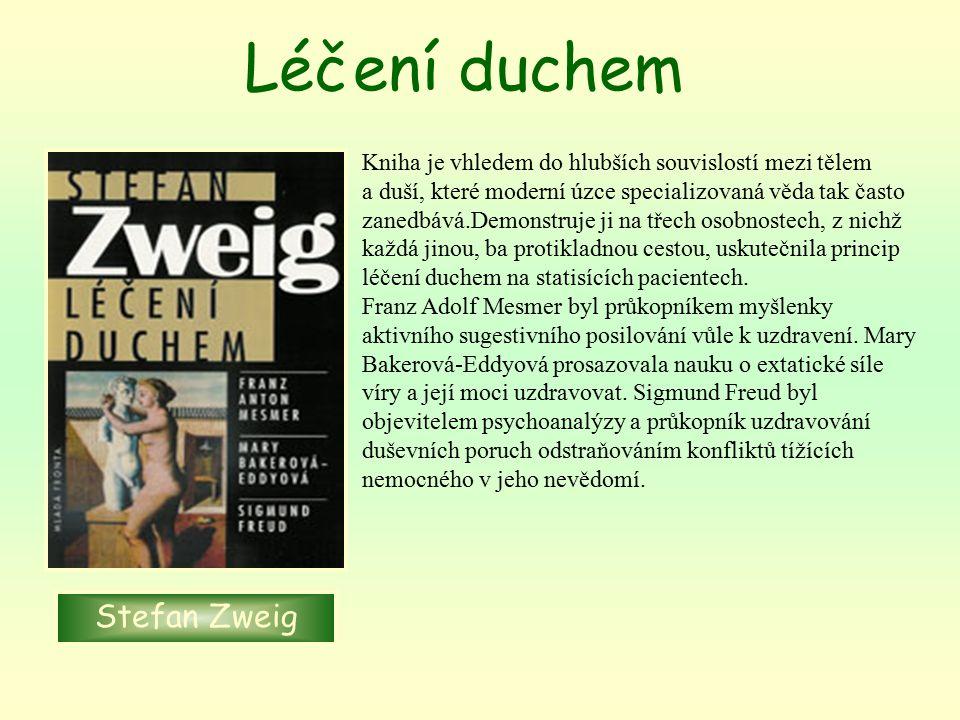 Léčení duchem Stefan Zweig