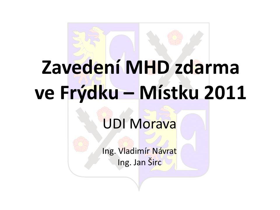 Zavedení MHD zdarma ve Frýdku – Místku 2011