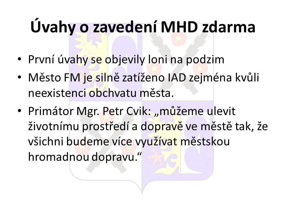 Úvahy o zavedení MHD zdarma