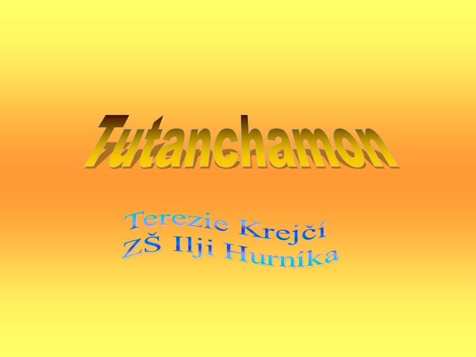 Tutanchamon Terezie Krejčí ZŠ Ilji Hurníka